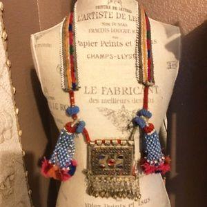 Jewelry - Amazing Bedouin tassel/medallion necklace